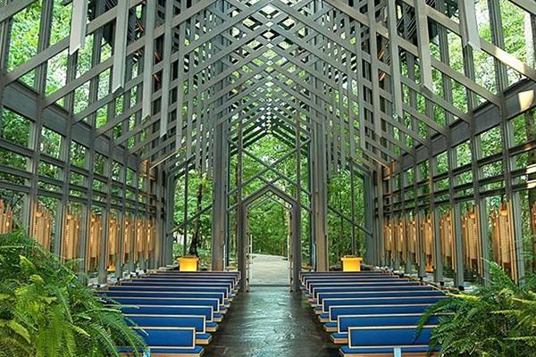 Thorncrown Chapel at Eureka Springs