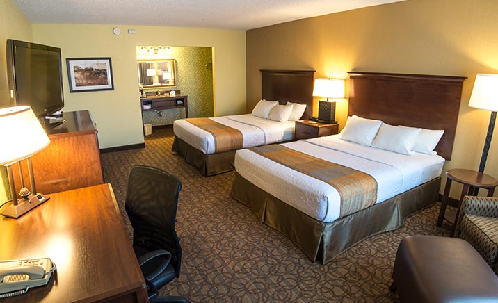Double Queen Beds Room at Best Western Inn Of The Ozarks